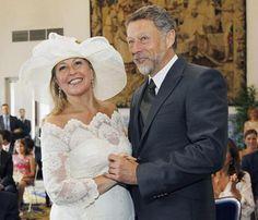 Trinidad Jiménez se ha casado con el cámara de TVE Miguel Ángel de la Fuente