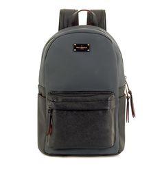 82c660f215 PAUL S BOUTIQUE Grey Black Backpack. Γυναικείο γκρι μαύρο σακίδιο πλάτης.