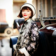Love this show and the clothes are gorgeous. Phyrne {Essie Davis} ~ Miss Fisher's Murder Mysteries