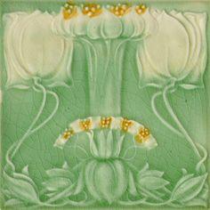 Marsden c1906/1908 - RS0515 - Art Nouveau Tiles
