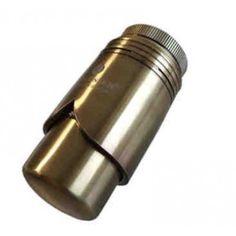 """Schlösser Thermostatkopf """"Brilliant"""" M30 x 1,5 Heimeier Messing Antik 6002 00013"""
