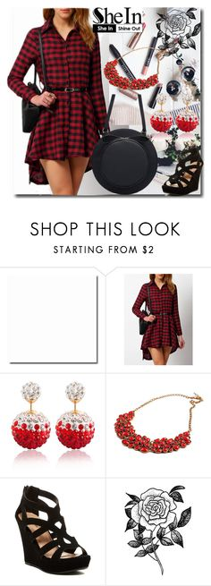 """""""2#SheIn"""" by fatimka-becirovic ❤ liked on Polyvore featuring Top Guy and Forever 21"""