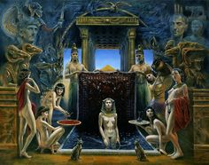 Michael Cheval Cleopatra
