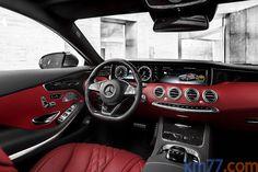 Mercedes-Benz Clase S Gama Clase S Coupé Gama Clase S Coupé Coupé Interior Salpicadero 2 puertas