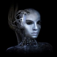 Female Cyborg Head   …it's actually Bill