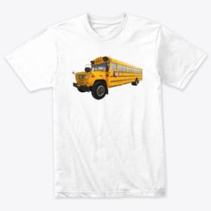School Bus Designs 24st Products from T-shirt 24Store.