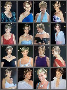 Princess Diana Hair, Princess Diana Family, Princess Diana Pictures, Real Princess, Princess Kate, Princess Of Wales, Prinz William, Prinz Harry, Elisabeth Ii