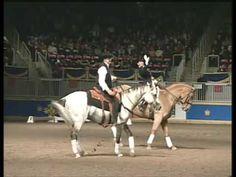 """Dressage Meets Cowboy"" 2009 Royal Agricultural Winter Fair - fantastic."