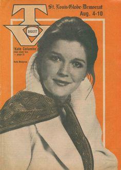 St Louis Globe-Democrat TV Digest  Aug. 4-10, 1979 Kate Mulgrew, Cop Show, St Louis, Dramas, Crime, Globe, Nostalgia, Tv Shows, Movie Posters