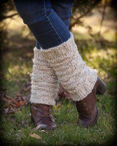 Loom Knit Legwarmer Pattern. Textured legwarmer Pattern.