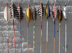 Handmade, one-of-kind arrows from Brooklyn-based Fredericks & Mae-2