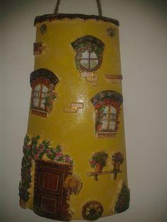 #decoupage #tegola #hobby #fimo #decorazioni
