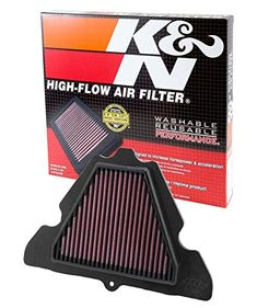 K&N Performance Air Kawasaki Ninja Motorcycle Air Filters, Motorcycle Parts, Z 1000, Performance Air Filters, Kawasaki Ninja, Inventions, Things To Sell, Fit