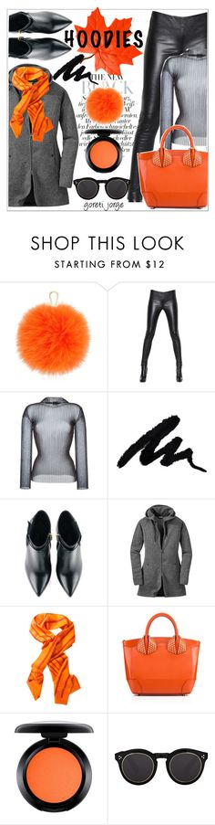 """Black & Orange -Hoodies"" by goreti ❤ liked on Polyvore featuring Furla, Alexander McQueen, FAUSTO PUGLISI, Kim Kwang, Outdoor Research, Hermès, MAC Cosmetics, Illesteva and Hoodies"
