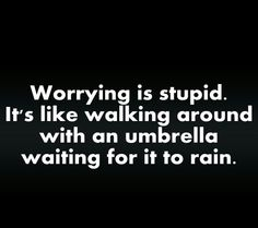 Umbrellas don't always stop the rain