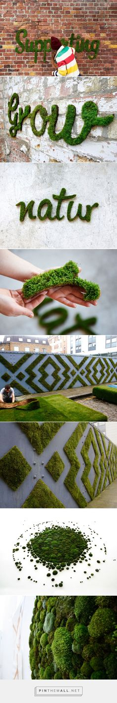 moss graffiti grows on walls by anna garforth from http://www.designboom.com/art/moss-graffiti-grows-on-walls-by-anna-garforth-09-30-2013/