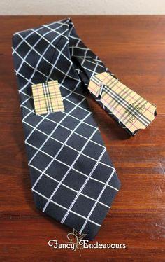 NWT Burberry of London Black Diagonal Crossed Stripe Silk Necktie Tie #BurberryLondon #Tie