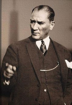"""""""One day my portal body turn to dust. But the Turkishnrepublc will stand forever."""" M.K.Atatürk."""