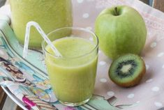 Suc de mere, kiwi si ghimbir / Apple, kiwi and ginger juice Honeydew, Cantaloupe, Ginger Juice, Kiwi, Diabetes, Fruit, Drinks, Desserts, Food