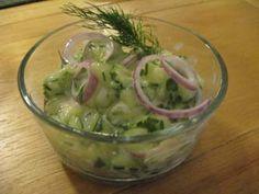 A couple different Gurkensalat (Cucumber salad) recipes! from kitchenproject.com