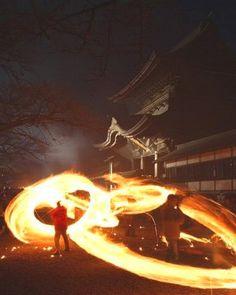 肥後国一宮 阿蘇神社 火振り神事 熊本県阿蘇市 #kumamoto #japan