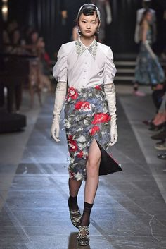 Which Royal Inspired This Runway Show? via @WhoWhatWearAU.