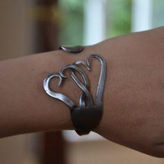 Make a bracelet out of a fork