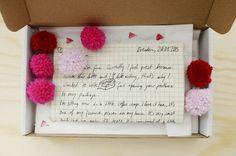 AHG Pen Pal Ideas: Send your pen pal a fun letter package