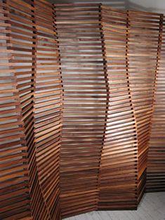 Matt Gagnon established his studio in 2002 to pursue a broad design practice. Partition Screen, Room Divider Screen, Partition Design, Bedroom Divider, Room Deviders, Pattern Texture, Interior And Exterior, Interior Design, Design Studio