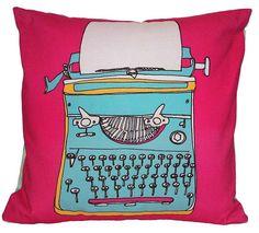 Typewriter Cushion