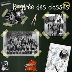 Trois idées pour bien commencer l'année scolaire Robert Doisneau, France, Education, Electronics, Sauf, Scrapbooking, Photoshop, French Classroom, Back To School