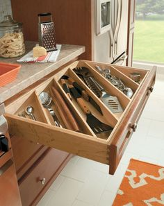 Utensil Drawer Divider