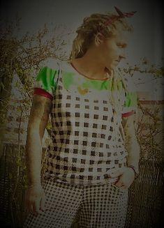 """Handmade Einzelstück  Fiefties Shirt """"Kerry Zwergenschön"""" Unisex, Pullover, Arms, Handmade, Shirts, Woman Clothing, Alternative, Tops, Nice Asses"""