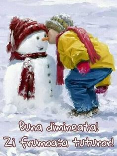 Motto, Good Morning, Winter, Character, Bom Dia, Winter Time, Buen Dia, Bonjour, Mottos