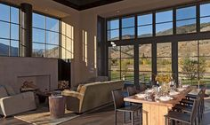 Sun Valley Mountain Modern by Signum Architecture