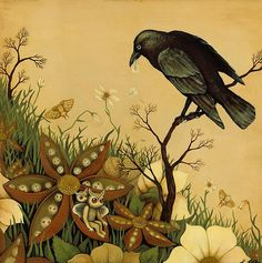 "Crows Ravens: ""Don't Bother the #Crow,"" by Kathleen Lolley."