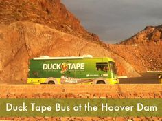 The Duck Bus at the Hoover Dam!