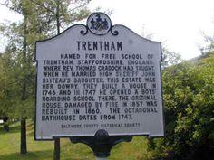 Trentham Garrison, Baltimore County Cradock Lane (westbound), 55 ft. south of Village Queen Drive