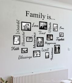 picture frame wall decals - Google Search