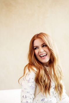 "dailyactress: ""Isla Fisher for Stella photographed by Amanda Friedman """