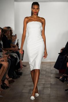 Zac Posen Spring 2015 Ready-to-Wear - Collection - Gallery - Look 1 - Style.com