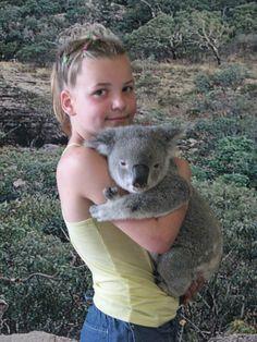 Autralie - me and koala - 2007