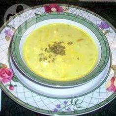 Sopa de batata com alho poró @ allrecipes.com.br