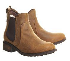 UGG Australia Bonham Chelsea Boots Chestnut Leather - Ankle Boots