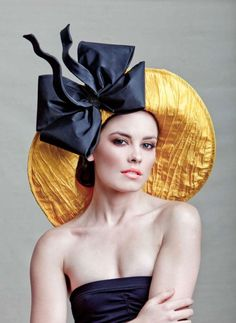 LET'S PLAN ON GOING TO THE DERBY IN 2013...  Couture Derby Hat. $195.00, via Etsy.