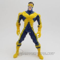 Cyclops  Miscellaneous Series Famous Couples - 1999  /// Pinned by: Marvelicious Toys - The Marvel Universe Toy & Collectibles Podcast [ www.MarveliciousToys.com ]
