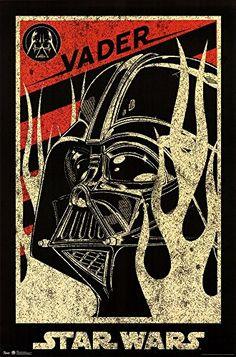 Star Wars - Vader Propaganda Art Print Great Art Now http://www.amazon.com/dp/B00OM5EP9Q/ref=cm_sw_r_pi_dp_YEUCwb1G5PXYB