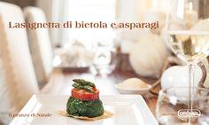 Pranzo di Natale: #lasagnetta #bietola #asparagi