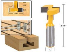 "1//4/"" Straight Shank Router Bits portant Flush Trim Bit Boiseries 25 mm /& 38 mm"