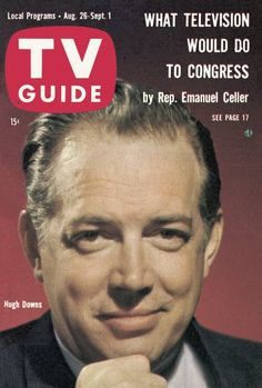 TV Guide: August 26, 1961 - Hugh Downs
